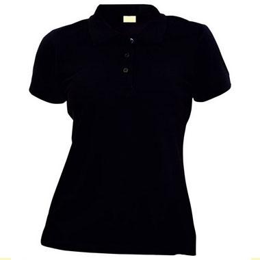 Рубашка поло женская TS-Polo Lady 190 цвет черный