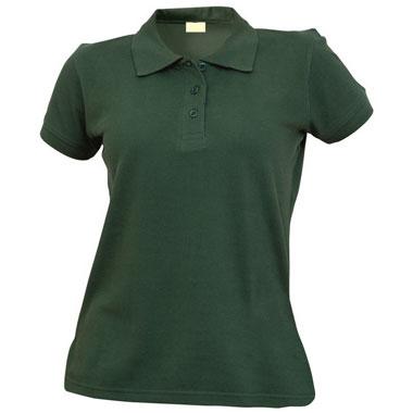 Рубашка поло женская TS-Polo Lady 190 цвет темно-зеленый