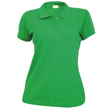 Рубашка поло женская TS-Polo Lady 190 цвет зеленый