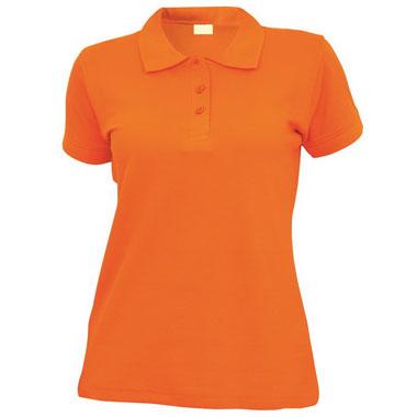 Рубашка поло женская TS-Polo Lady 190 цвет оранжевый