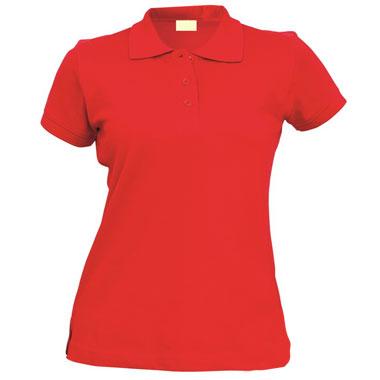 Рубашка поло женская TS-Polo Lady 190 цвет красный