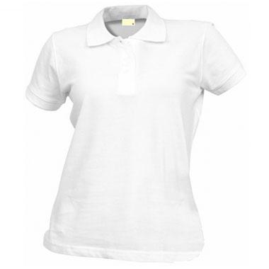 Рубашка поло женская TS-Polo Lady 190 цвет белый