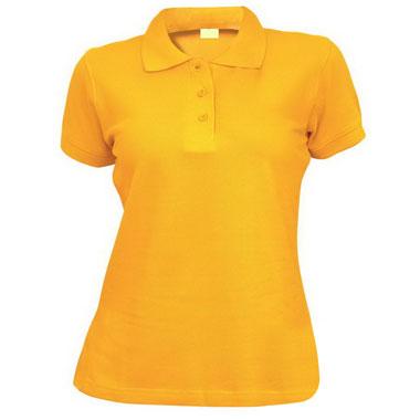 Рубашка поло женская TS-Polo Lady 190 цвет желтый