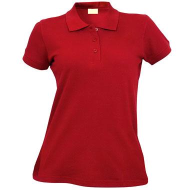 Рубашка поло женская TS-Polo Lady 190 цвет бордо