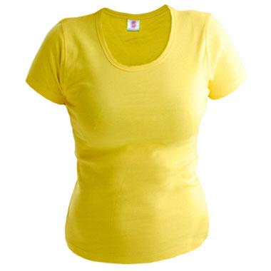 Футболка женская TS-Lady 175 цвет лимонный