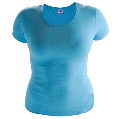 Футболка женская TS-Lady 175 цвет голубой