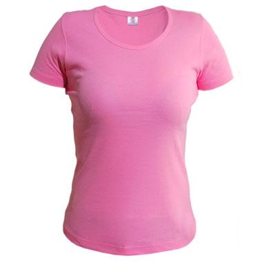Футболка женская TS-Lady 175 цвет розовый