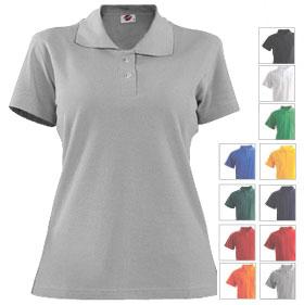 Рубашка поло женская TS-Polo Lady 190 под нанесение логотипа