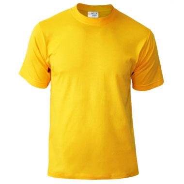 Подростковая футболка однотонная Novic Junior 155 подсолнух