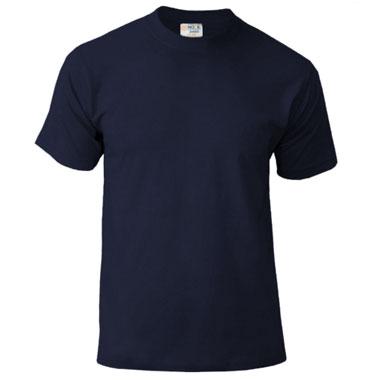 Подростковая футболка однотонная Novic Junior 155 цвет темно-синий