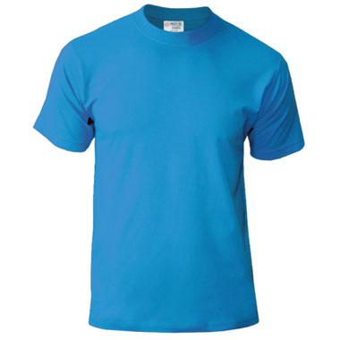 Подростковая футболка однотонная Novic Junior 155 цвет голубой
