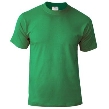 Подростковая футболка однотонная Novic Junior 155 ярко-зеленый