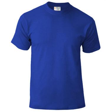 Подростковая футболка однотонная Novic Junior 155 цвет роял