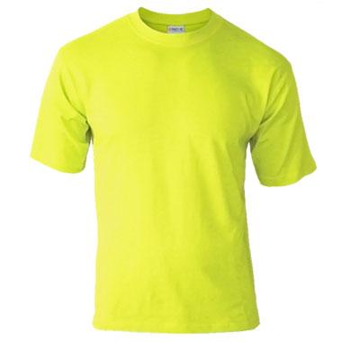 Подростковая футболка однотонная Novic Junior 155 желтый лимон