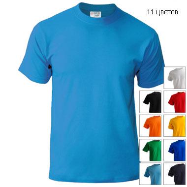Подростковая футболка однотонная Novic Junior 155 без рисунков и надписей
