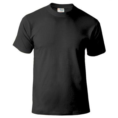 Подростковая футболка однотонная Novic Junior 155 черный