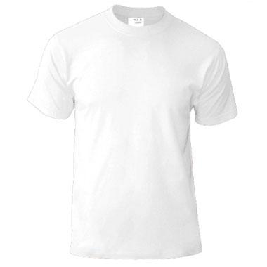Подростковая футболка однотонная Novic Junior 155 белая